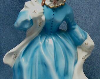 Florence Ceramics Ethel Lady Figure Vintage Pasadena California Pottery