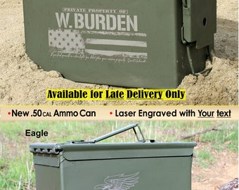 Personalized Dad Gift Ammo Box Mens Cool Guy Gifts Father's Day Gift Ideas Personalized Ammo Can Grandpa Gift, Husband Gift, Father Gift