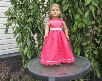 Party dress or Ballgown fits dolls like American Girl