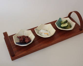 Rustic Wooden Serving Tray