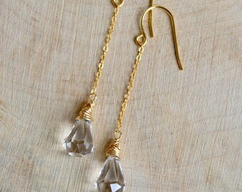 Crystal Raindrop Earrings