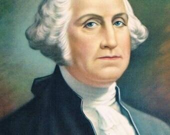 Image vintage George Washington