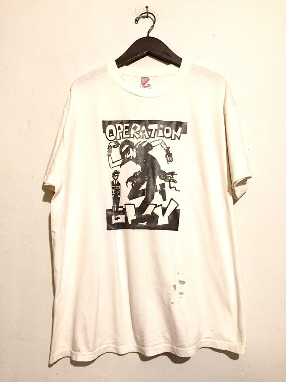 Operation Ivy Distressed Band Tee