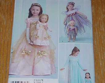 Simplicity Costume Pattern - Simplicity S0797 - Size 3-8 - new and uncut