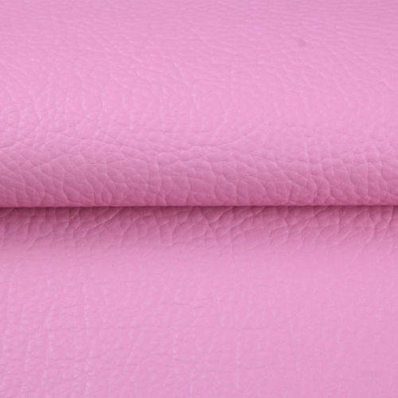 Pink faux leather sheets for crafts hair bows diy bags for Leather sheets for crafting