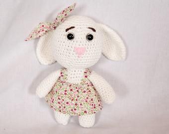Adorable crochet bunny