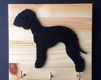 Bedlington Terrier  Lead/ Key holder