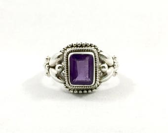 Amethyst Ring - Size: 5.5