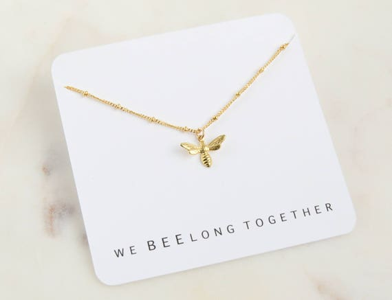 We BEElong Together Necklace