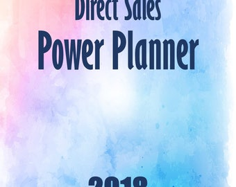 Direct Sales Power Planner - FLASH SALE UNTIL 2/14/18 at midnight