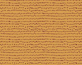 INDIE FOLK  Art Gallery Fabrics, Flecks in Auburn, Pat Bravo, Cotton Quilt Fabric, By the Yard, Quilting Fabric, Boho Fabric, Dots Blender