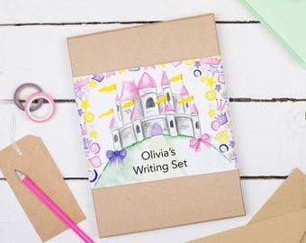 Princess Letter Writing Set - Writing Paper - Gift for Goddaughter - Letter Writing Paper - Princess Writing Paper - Princess Invitations