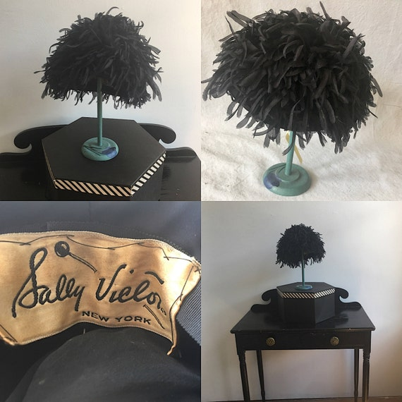 1950s Hat by Sally Victor