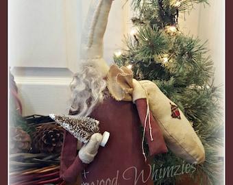 Primitive Santa Prim Santa Primitive Christmas Primitive Christmas Santa, Santa, santa claus saint nick