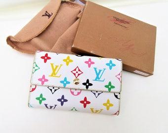 Vintage Louis Vuitton Wallet   Tri Fold Wallet   Ladies Wallet   Multicolor Wallet   Louis Vuitton Bag