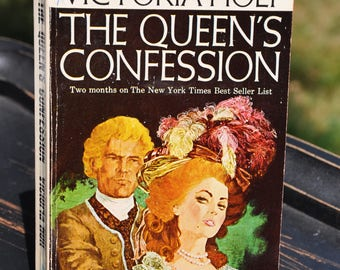 The Queen's Confession by Victoria Holt, book, Horror, Gothic, Macabre