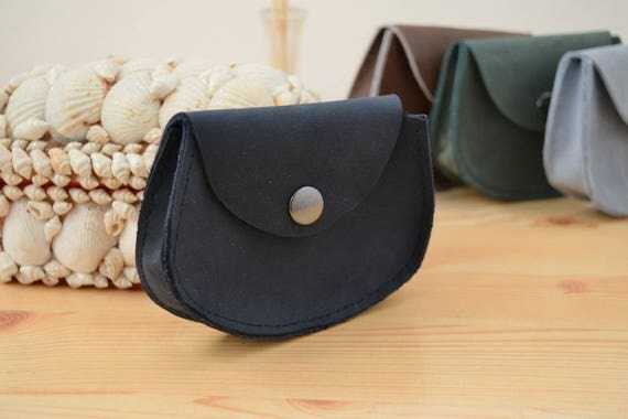 Change purse,leather coin purse,blue coin purse,pocket coin purse,leather wallet,mens wallet,mini coin purse,minimalist purse,navy wallet