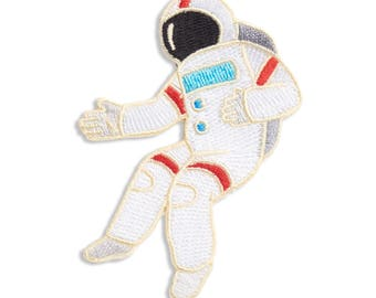 Spaceman Patch, Iron On Patch, Gift, Accessory, Art (PAT11)