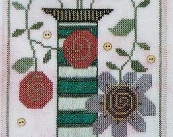 Cross Stitch Pattern | SRING FLING | Ewe Eye & Friends | Kam Slagel | Barbara Stark | Counted Cross Stitch Pattern