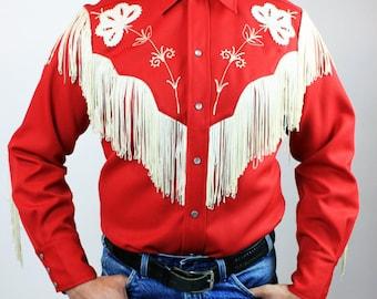 1960s H Bar C Western Fringe Shirts
