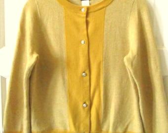 J Crew Wool Cashmere Cardigan Sweater, S - M