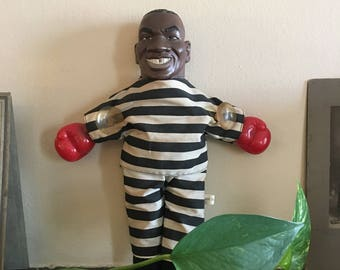 90's Vintage Mike Tyson Doll Window Cling