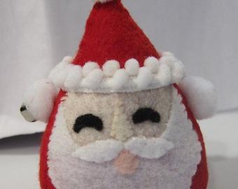 Kawaii Felt Plushie Santa Elf Holiday Doll