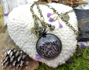 bless your heart necklace, gift for country girl, southern belle jewelry, farm life sweet tea and Jesus, sweet home Alabama, Sunday funday