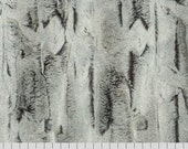 MINKY - Silver Fox Sterling/Black Luxe Cuddle from Shannon Fabrics - Choose Your Cut
