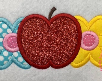 Apple Blossom Machine Embroidery Applique Design Buy 2 for 4! Use Coupon Code 50OFF