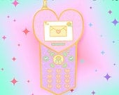 PRE-ORDER Moshi Moshi Darling! | Shojo Kawaii Gold Plated Hard Enamel Necklace