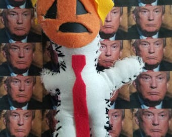 LTD Edition, 'mytrumpvoodoo' TRUMPKIN. Signed and Numbered. Edition of 25