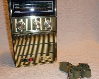 Shaun AM FM Portable Radio