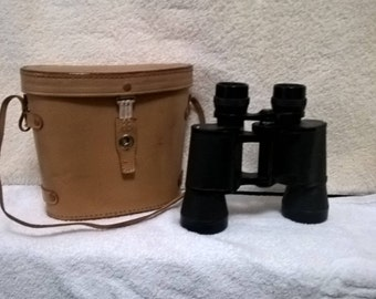 Binoculars With Leather Case 7 X 35