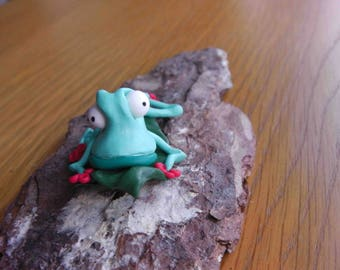 Collectable Polymer Clay Frog