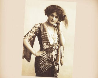Actress Lily Elsie New 4x6 Vintage Postcard Image Photo Print SD266