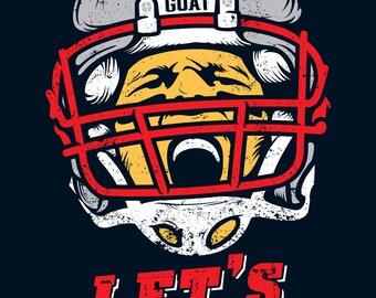 Tom Brady 'LET'S GOOOO!!!' T-shirt