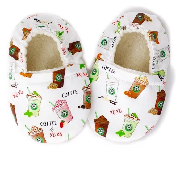 Coffee Vegan Organic Baby Shoes