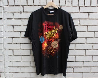 Vintage 1991 ALLMAN BROTHERS BAND Tour Shirt Shades Of Two Worlds Hanes tag size xl x-large live promo concert rock