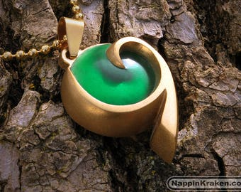 Kokiri's Emerald Pendant Legend of Zelda Ocarina of Time