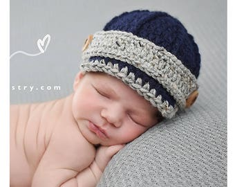 Baby boy clothes, newborn boy coming home outfit, baby boy hat, baby boy take home outfit, newborn hat, baby boy hat, crochet baby hat