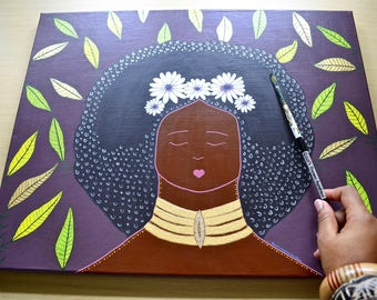 Oanwani • 16x20 Original Painting