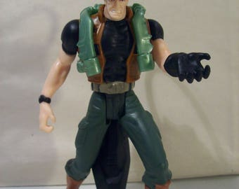 Vintage Superman Man of Steel Lex Luthor Squirting Hornet Attack Jet Pack Action Figure, 1996, DC Comic