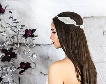 Bridal hair wreath, wedding hair piece, wedding hair wreath, floaters, bridal hair vine, hair accessories, bohemian hair wreath and tiaras