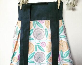 Size 3 Tie Up Floral Toddler Sundress