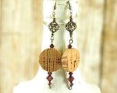 Statement earrings - Gift...