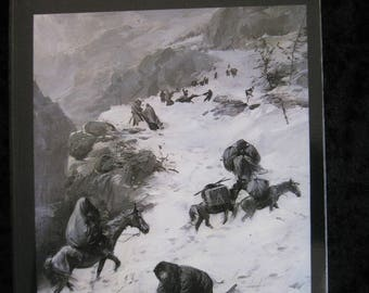 Ordeal by Hunger - The Story of the Donner Party by George R. Stewart - softcover book 1986