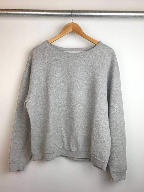 Vintage Heather Crew Neck Sweatshirt