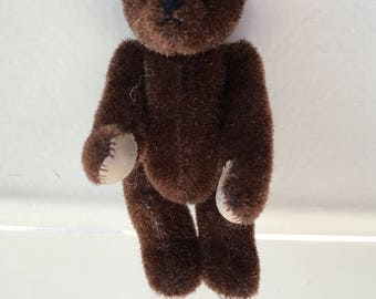 Little Gem Brown Teddy Bear 1996  (JL)
