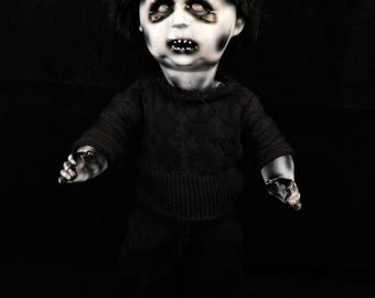 "Minax 11"" OOAK Porcelain Horror Doll"
